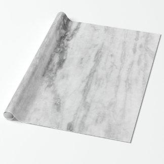 Het witte en Grijze Marmeren Patroon van de Cadeaupapier