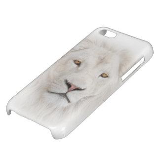 Het witte Hoesje van iPhone van de Leeuw Hoofd iPhone 5C Cover
