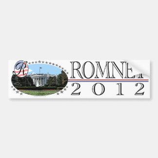 Het Witte Huis 2012 van Romney Bumpersticker