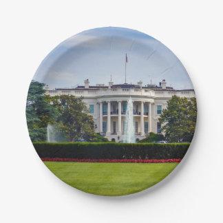 Het Witte Huis Papieren Bordje