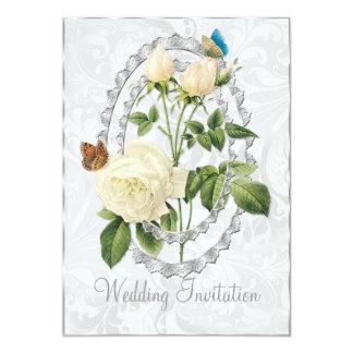 Het witte Huwelijk nam de Kaart van de Uitnodiging