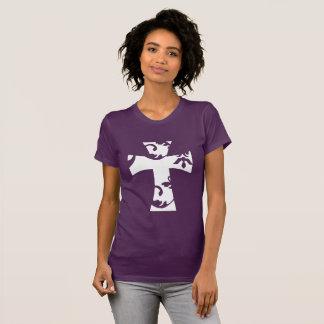 Het witte Kruis van de Werveling T Shirt
