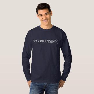 Het witte Lange Sleeve van het Logo T Shirt