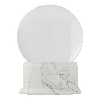 Het witte Marmer beëindigt het Wereldbol van de Sneeuwbol