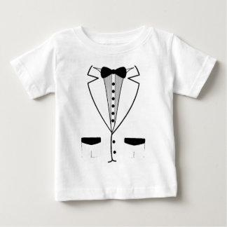Het witte Overhemd van het Baby van de Smoking Baby T Shirts