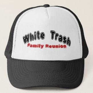Het witte Pet van Fr van het Afval