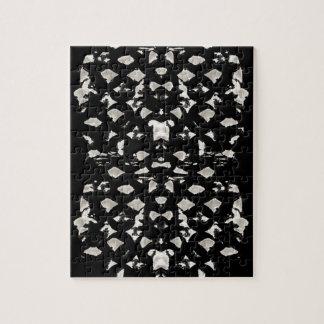 Het witte Raadsel van Vlekken Foto Puzzels
