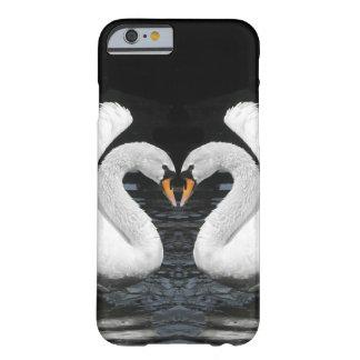 Het witte Stodde Spiegelbeeld van het Afbeelding Barely There iPhone 6 Hoesje