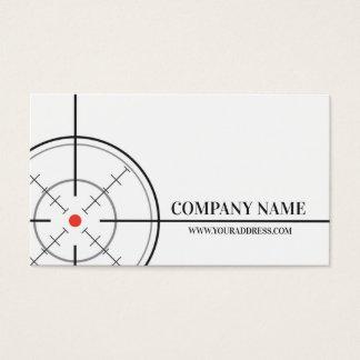 Het Witte Visitekaartje van het Doel van de Winkel Visitekaartjes