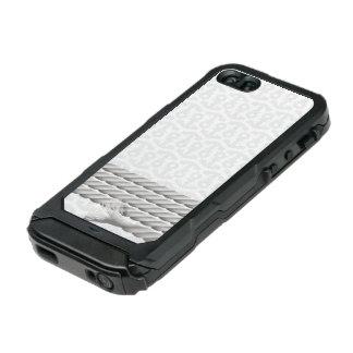 Het witte ZeevaartOntwerp van het Anker met Kabel Incipio ATLAS ID™ iPhone 5 Hoesje