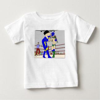 Het worstelen de Slag van de Stoel Baby T Shirts
