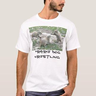 Het Worstelen van de prairiehond T Shirt