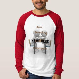 Het Worstelen van het wapen het T-shirt van de