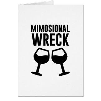 Het Wrak van Mimosional Briefkaarten 0