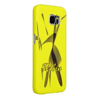 Het Yellow Samsung Galaxy hoesje van Robin