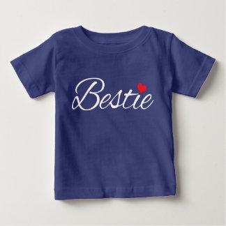 Het Zachte Baby van de Liefde van Bestie Baby T Shirts