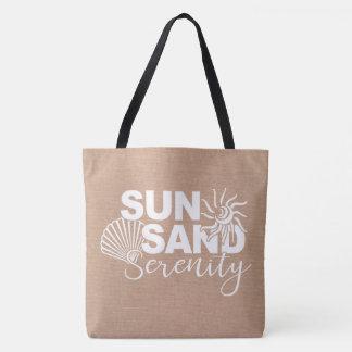 Het Zand en de Sereniteit van de zon Draagtas