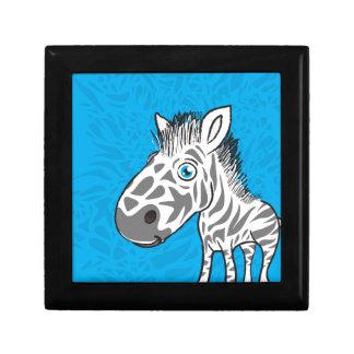 Het zebra is Leuk Decoratiedoosje