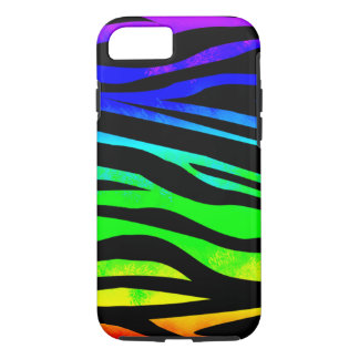 Het Zebra van de regenboog iPhone 8/7 Hoesje