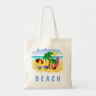 Het Zee van de Zon van het strand en de Zak van Budget Draagtas