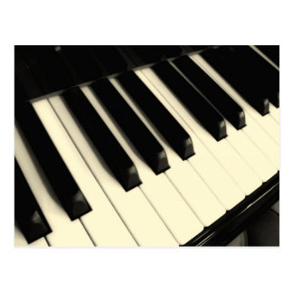 Het Zeer belangrijke Briefkaart van de piano