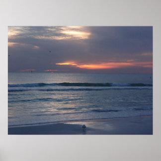 Het Zeer belangrijke Zonsondergang van de siësta Poster