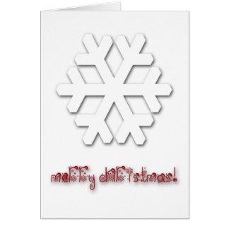 Het zeer Elegante LuxeWenskaart van Kerstmis! Briefkaarten 0