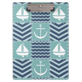 Het zeevaart Klembord van het Dekbed