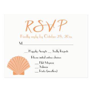 Het zeevaart Oranje Huwelijk van het Strand van de Briefkaart