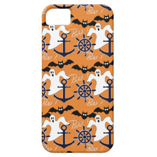 Het zeevaart patroon van Halloween Barely There iPhone 5 Hoesje