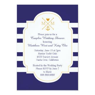 Het zeevaart Vrijgezellenfeest van het Huwelijk Kaart