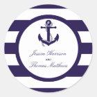 Het zeevaartCollectie van het Huwelijk van de Ronde Sticker