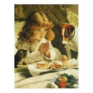 Het zeggen van Onze Gebeden, Suspense Charles Briefkaart