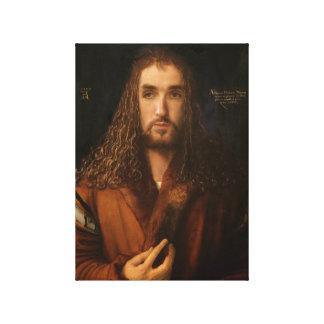 Het ZelfPortret van de beroemdheid als Albrecht Canvas Print
