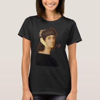 Het ZelfPortret van Raphael met Van Gogh Hat en T Shirt