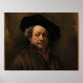 Het ZelfPortret van Rembrandt Poster