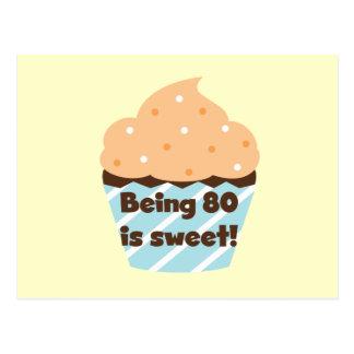 Het zijn 80 is de de Zoete T-shirts en Giften van Briefkaart