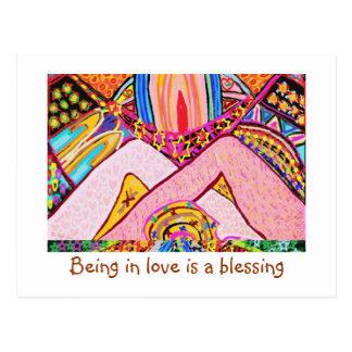 Het zijn in liefde is een zegen briefkaart