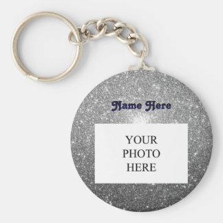 Het zilver fonkelt de Douane van | Sleutelhanger