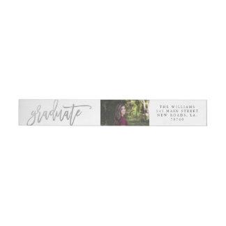Het zilveren Etiket van de Envelop van de Omslag