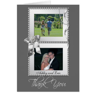 Het zilveren Huwelijk van het Lijst van de Foto Kaart