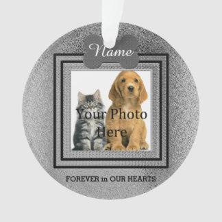 Het Zilveren Perfecte Geheugen van de hond of van Ornament