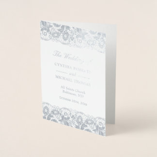 Het zilveren Programma van het Huwelijk van het