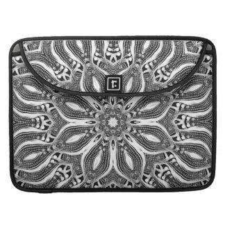 Het zilveren Sleeve van de Klep van de Riksja van  MacBook Pro Beschermhoes