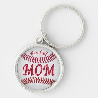 Het zilveren Sleutelhanger van het Honkbal voor