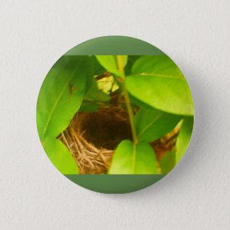 Het zoemende die Nest van de Vogel in de Knoop van Ronde Button 5,7 Cm