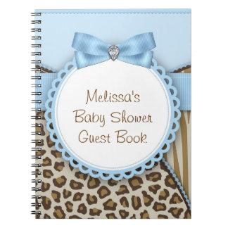 Het zoete Boek van de Gast van het Baby shower van Ringband Notitieboek