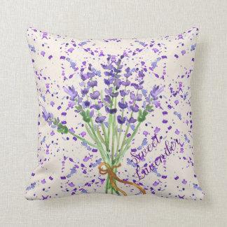 Het zoete Boeket van de Bloem van de Lavendel Sierkussen