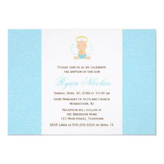 Het zoete Dopen van het Baby 12,7x17,8 Uitnodiging Kaart