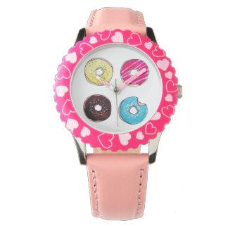 Het zoete horloge van Donuts
